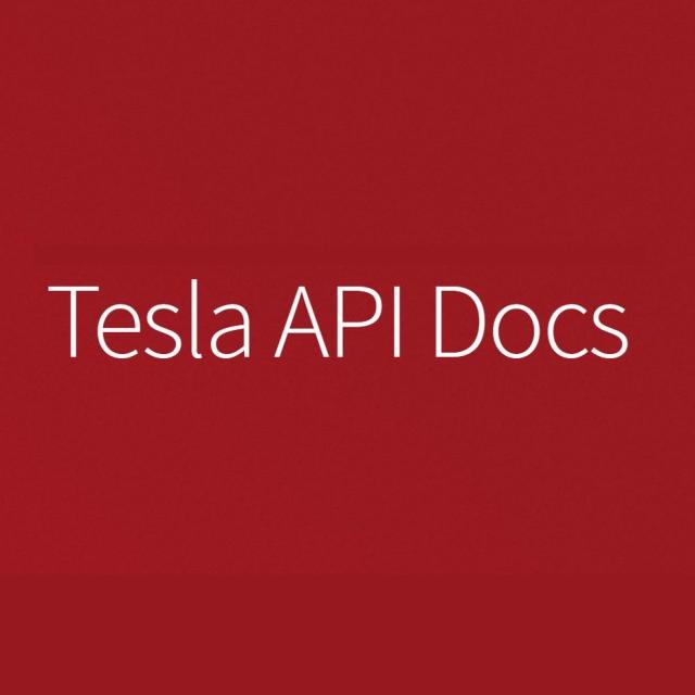 Tesla API Docs
